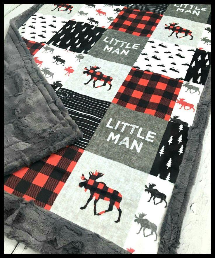Perfect little boy quilt!