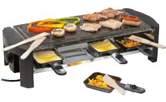 DOMO Raclette-pierrade (DO9039G)