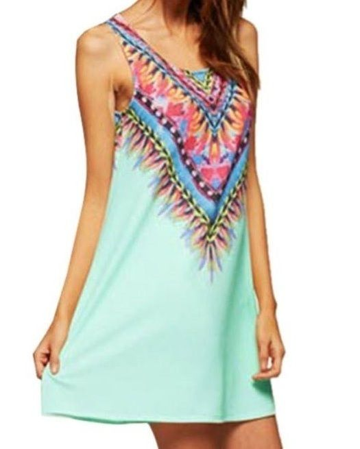 #dacostashoperu #ethnicdress  #vestido #primaveral  Tallas: XS SML Colores: Turquesa Negro Blanco Rosado  Código: VK008