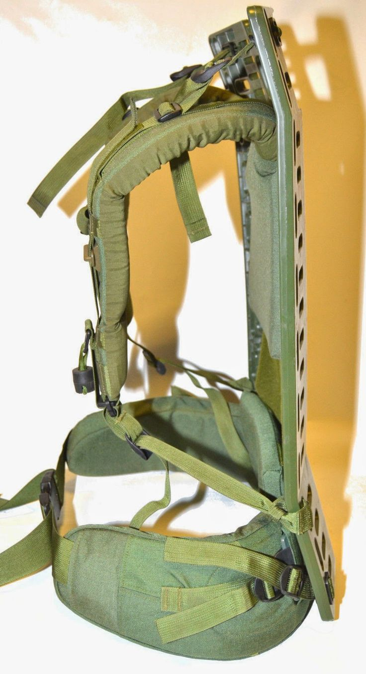 webbingbabel canadian army rucksack cargo pack pack board frame