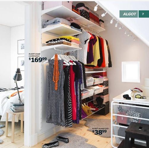 17 best images about ikea stolmen on pinterest wardrobe for Ikea progetto camera