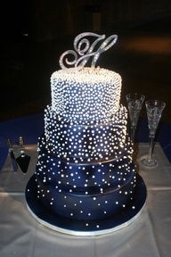 top online store this is such a beautiful cake  for like a new years party or a wedding or something else fancy lol