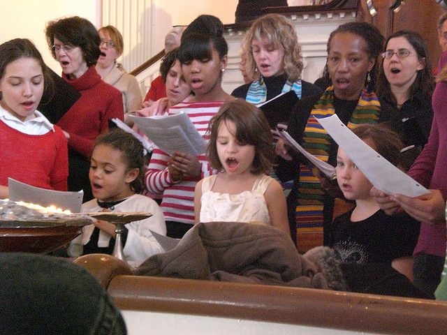 Article about kids and worship.