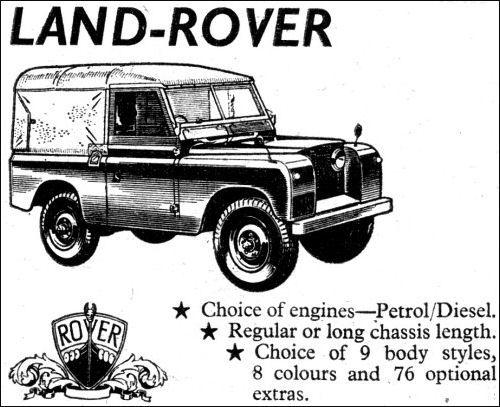 1960 land rover defender 90