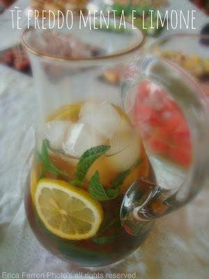the freddo fatto in casa con menta e limone