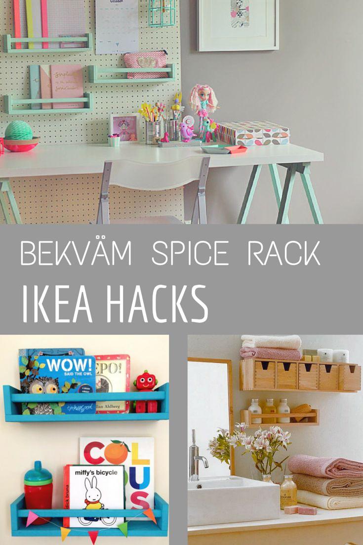 BEKVAM Spice Rack - IKEA HACKS