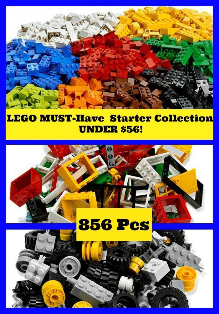 BEST list of LEGO Starter Pieces for Kids - Includes bricks, windows & doors!