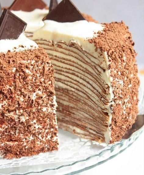 Most delicious recipes: pancakes cake
