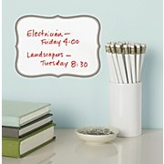 A mini white board anywhere! Love these,