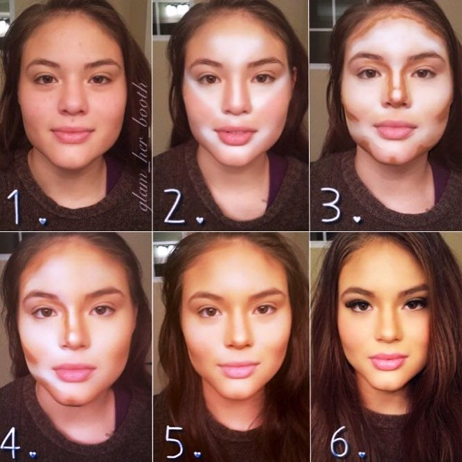 How to Apply Contour Makeup for Everyday Life ★ Easy Contouring Makeup Tutorials picture 2 ★ See more: http://glaminati.com/contour-makeup/ #contourmakeup #contouring #makeup #makeuplover #makeupjunkie #makeuptutorial