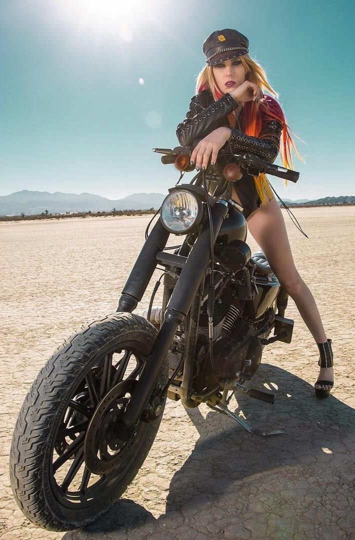 M Erin Kennedy With Images Biker Girl Hot Bikes Women Riding