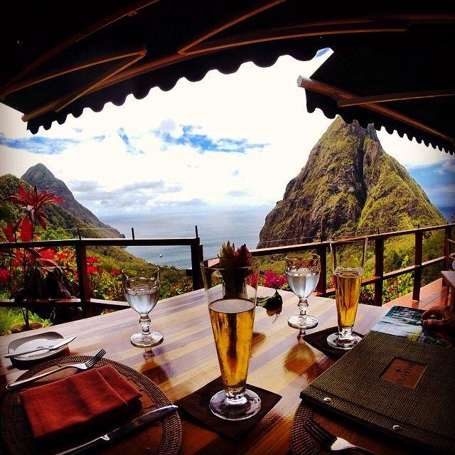 Dasheene/西インド諸島 :  死ぬまでに行ってみたい!世界の絶景レストラン35選 | wondertrip