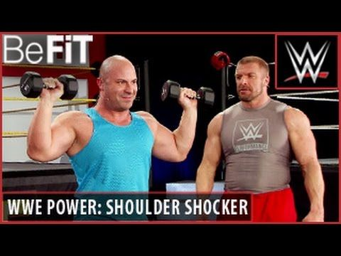 WWE Power Series: Shoulder Shocker Workout- Triple H - YouTube