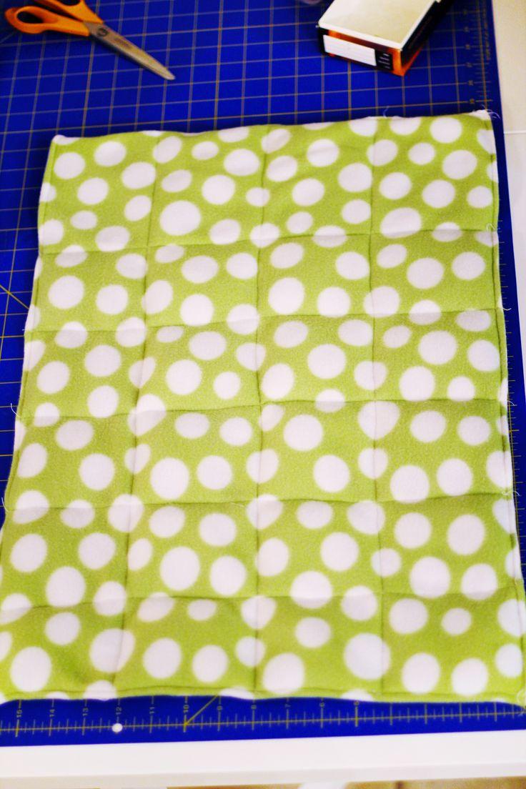 DIY Weighted Blanket Tutorial
