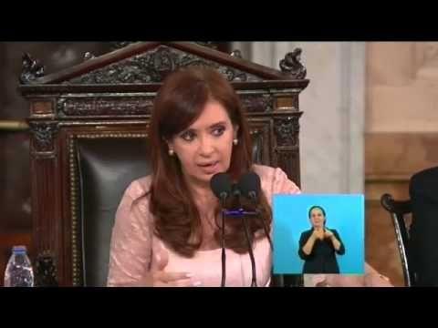 El mejor discurso de la presidenta Cristina Fernandez de Kirchner - YouTube
