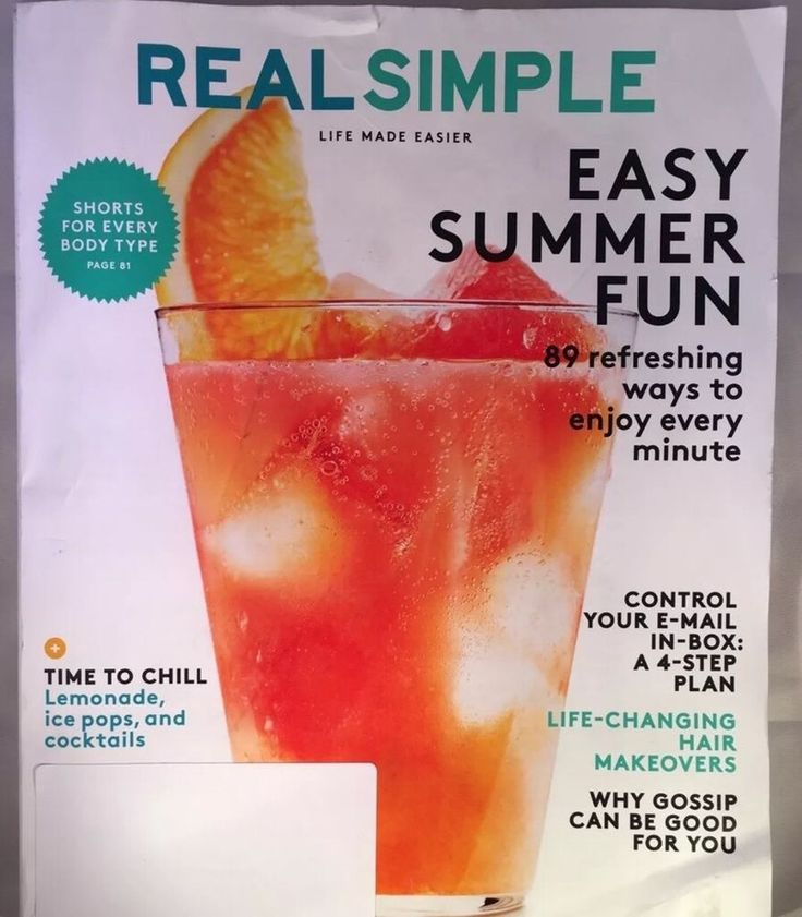 Real Simple Magazine Lot Of 2 July October 2016  | eBay