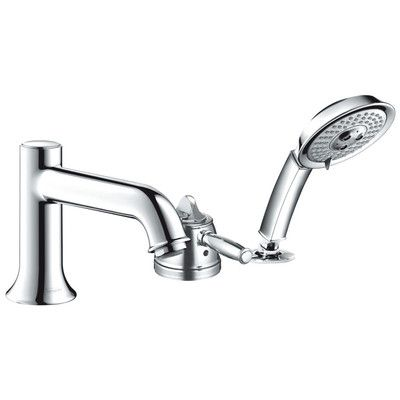 Talis C Single Handle Roman Tub Faucet Trim with Hand Shower   Wayfair