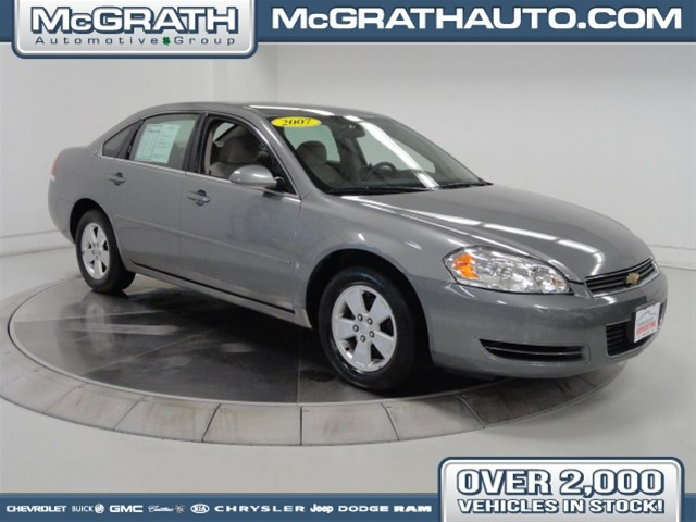 2007 Chevrolet Impala, Silver, 12992394