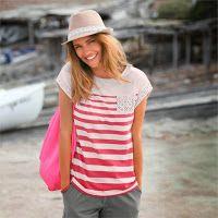 Tricouri femei din colectia Blancheporte  Articolul nostru preferat din acest sezon: tricoul cu maneca scurta si guler rotund, la alegere dintr-o gama variata de culori.  Vezi recomandarile,click link: http://www.magazinuniversal.net/2014/06/tricouri-femei-din-colectia-blancheporte.html