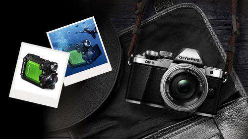 Répondez à 2 questions concernant l'appareil photo à objectif interchangeables, EM-10 Mark II d'Olympus, pour participer au tirage et sort et gagner une ActionCam.