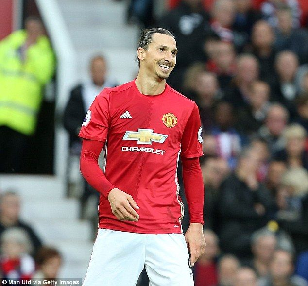 Zlatan Ibrahimovic of Manchester United got our lowest score after missing a late sitter