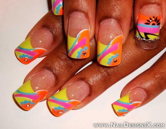 lines 4 nail design