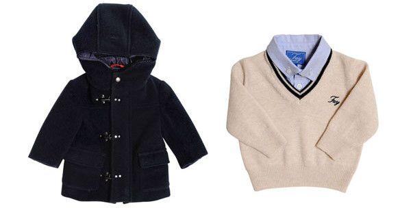 Collezione Fay Junior Autunno Inverno 2013, classe e stile anche per bambini