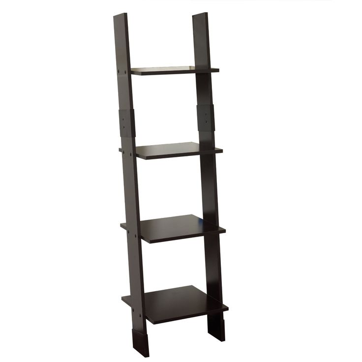 Amazon.com - Zenna Home 9437CH, Wood Ladder Linen Tower, Espresso - | Wood ladder, Ladder ...