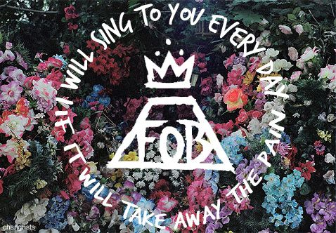 I will sing to you everyday, if it will take away the pain~Miss Missing You by FOB