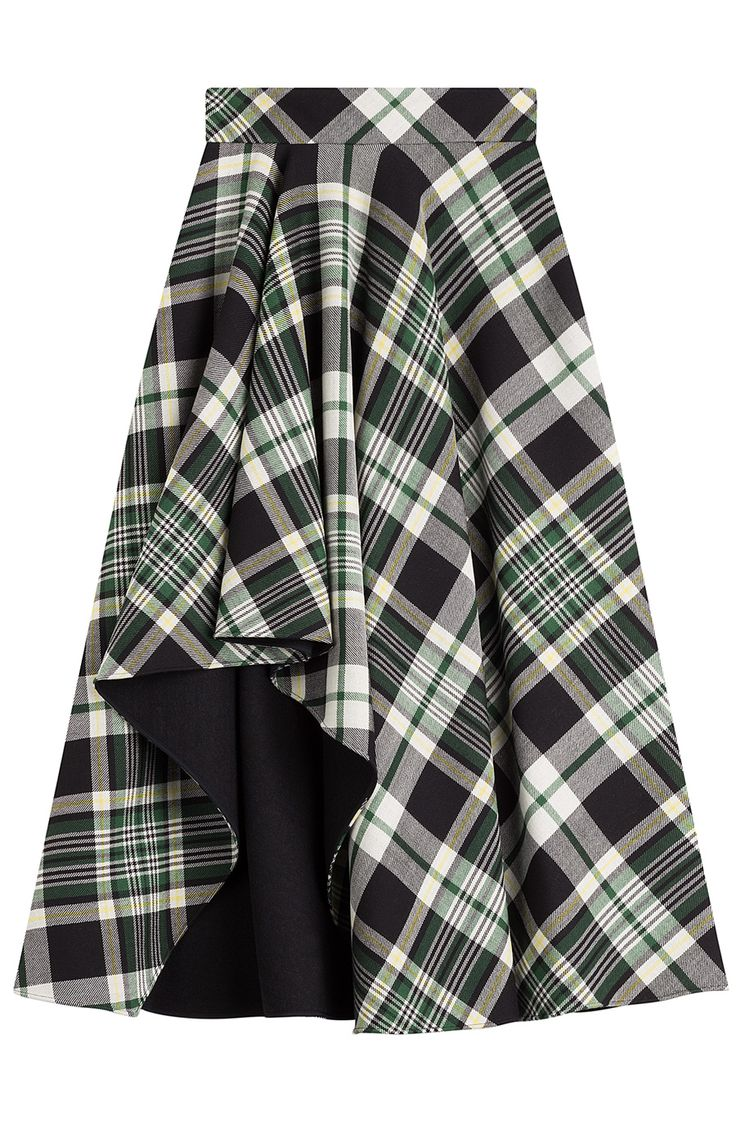 Tartan Midi Skirt detail 0                                                                                                                                                                                 More