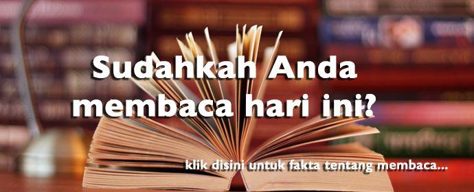 Sudahkah Anda Membaca Buku?
