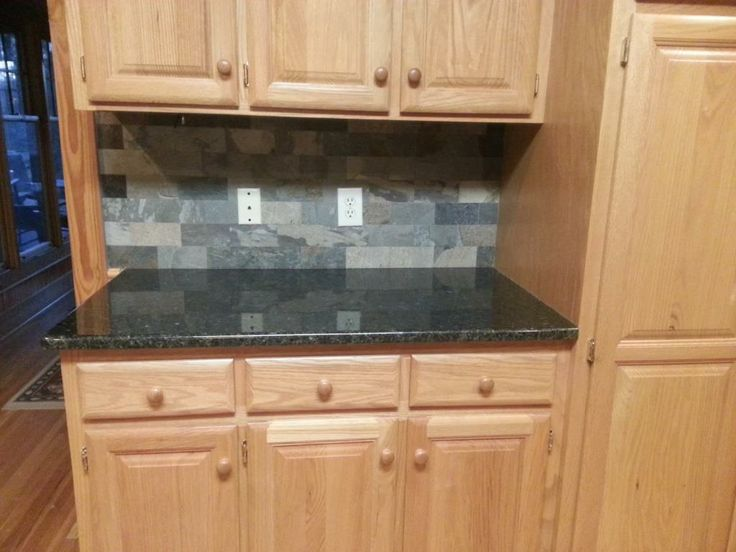 Uba Tuba Granite Countertops 30/70 Stainless Steel Sink 3x6 Slatty Multi  Colored