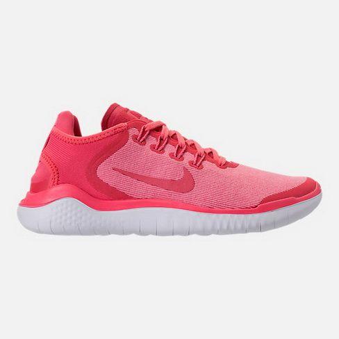 69ea663fec5d3 Legit Cheap WOMENS NIKE FREE RN 2018 RUNNING SHOES AH5208 800 Sea Coral  Tropical Pink Vast Grey For Sale