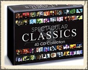 40 CD SPECTACULAR CLASSICS -muzyka klasyczna