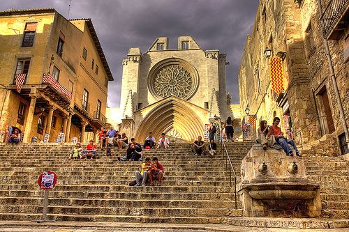 Romantic daytrip to #Tarragona! A taste of Rome this Valentine's Day is sure to please!