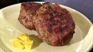 Frikadellen-Buletten-Bouletten-Fleischküchle aus Rinderhack einfach selber machen - YouTube