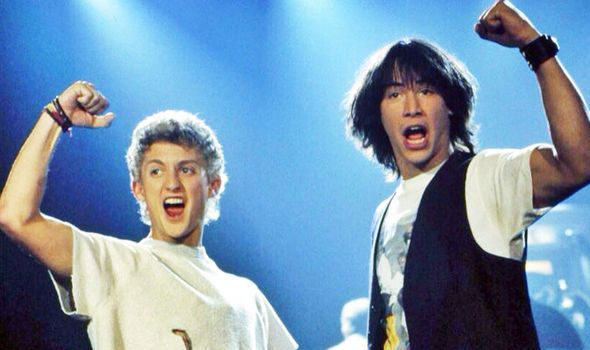 Bill & Ted 3 starts filming soon with Keanu Reeves - World responds, 'Excellent, dude'