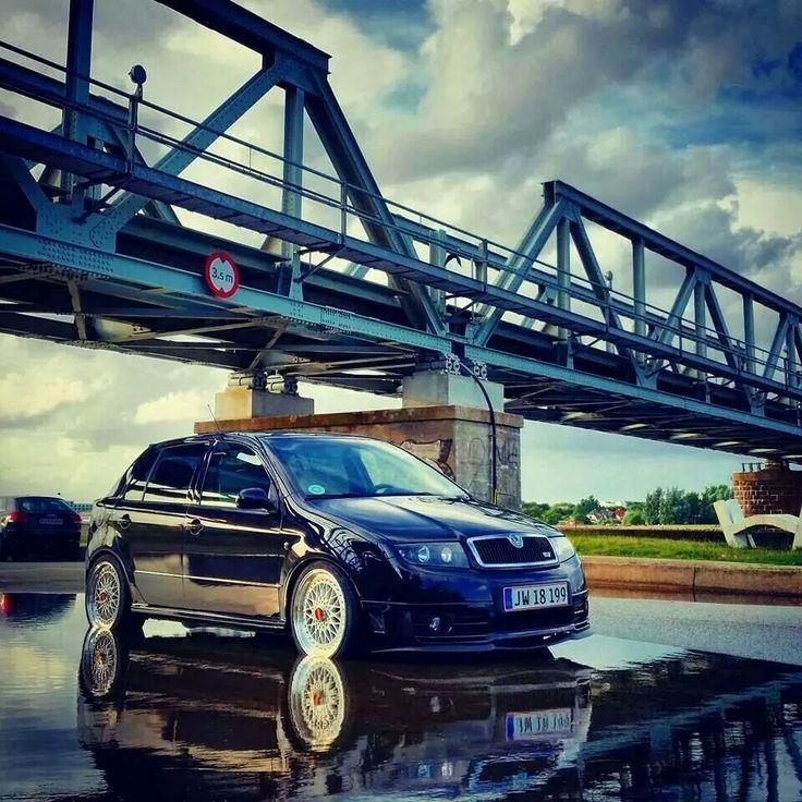Fabia Vrs on BBS RS wheels