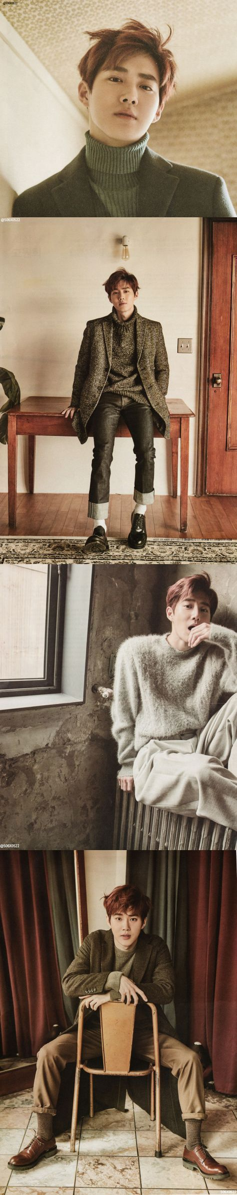 Suho for STAR 1 magazine