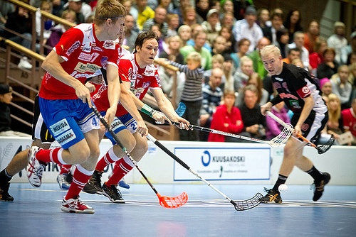 Captain #Kauko & #SPV #Floorball 2011-2012 Playoffs