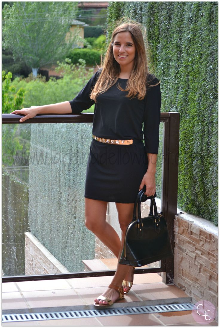 LBD Afterwork Total Look Style Blogger OOTD