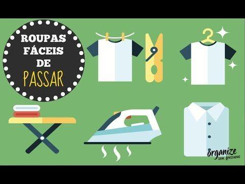 COMO FACILITAR A HORA DE PASSAR ROUPAS | Organize sem Frescuras!