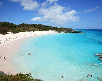 Horse Shoe Bay in Bermuda. Heaven will look and feel like this.