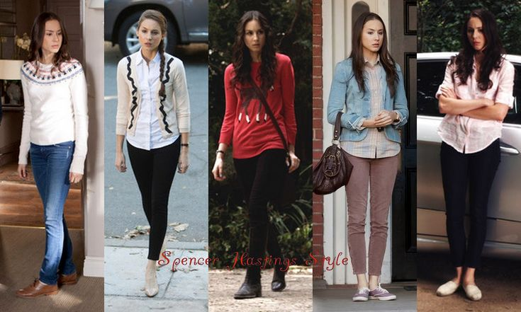 All Of Spencer Hastings Outfits | Spencer Hastings Outfits | PLL