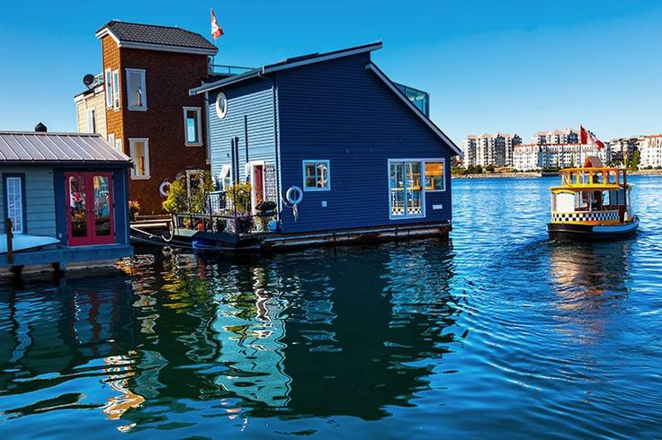 Fisherman's Wharf, Victoria, Vancouver Island, British Columbia, Canada. | by BCVacation