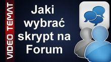 Jaki jest najlepszy skrypt forum - rodzaj forum