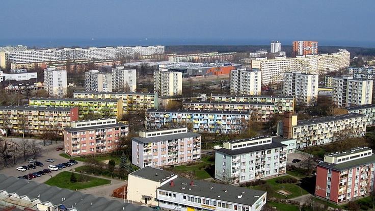 Bloki mieszkalne na Przymorzu / #Przymorze blocks of flats | #Gdansk