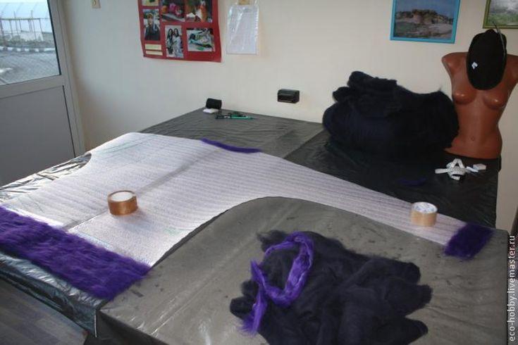 Валяем пуловер из австралийского кардочеса - Ярмарка Мастеров - ручная работа, handmade