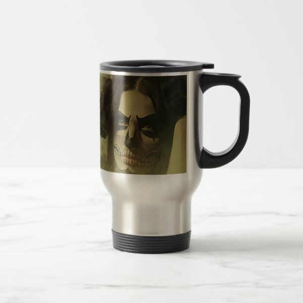 Ghoul Bride Travel Mug #halloween #holiday #drinkware #party #cups