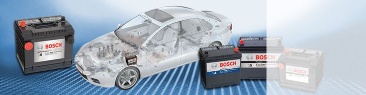 Bosch Passenger Batteries
